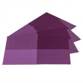 Prestieranie DeLuxe fialová, 30 x 45 cm, sada 4 ks