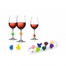 Značky na vínne poháre TESCOMA myDRINK, 12 ks