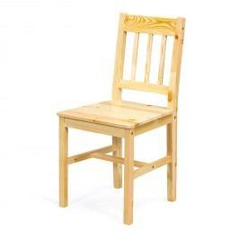 Jedálenská stolička CAROLINO lak