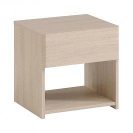 Nočný stolík PLEASE dub Sesame