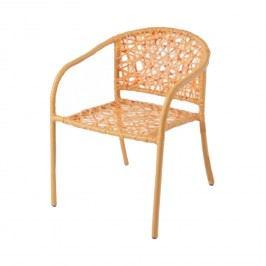 Oranžová židle NEST