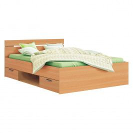Multifunkčná posteľ 140x200 MICHIGAN buk