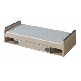Jednolôžková posteľ 80 cm Gemo G13 (s roštom a úl. priestorom)