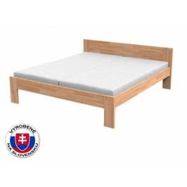 Manželská posteľ 160 cm Natália (masív buk)