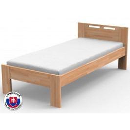 Jednolôžková posteľ 120 cm Nela (masív)