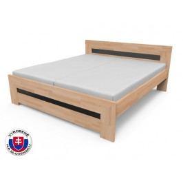 Manželská posteľ 220x170 cm Salma (masív)