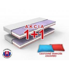 Penový matrac Gina 200x90 cm (T3/T4) *AKCIA 1+1