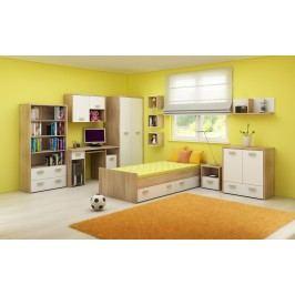 Detská izba Kitty 2 Sonoma svetlá + biela