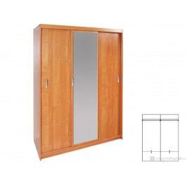 Šatníková skriňa Hall 150 (so zrkadlom)