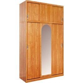 Šatníková skriňa Kamma (so zrkadlom)