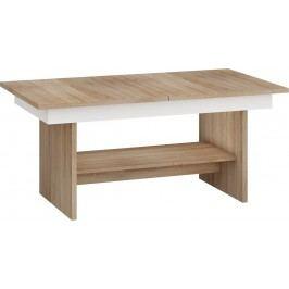Konferenčný stolík Dallas Sonoma svetlá + biela