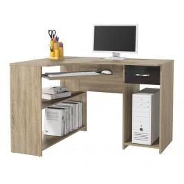 Rohový PC stolík Modul P1DS0M14