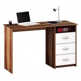 PC stolík Laristote 1001 slivka+biela L/P