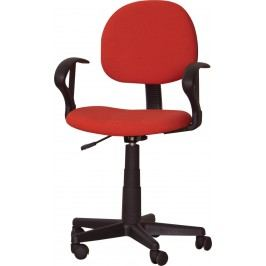 Kancelárska stolička TC3-227 červená