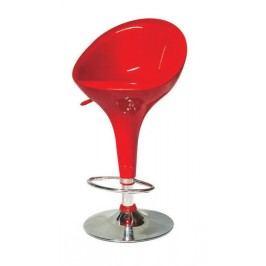 Barová stolička Alba Nova červená