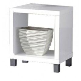 Nočný stolík Tofi New 1 CB 101 biela