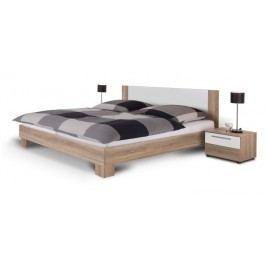 Manželská posteľ 180 cm + 2 noč. stolíky Martina dub sonoma