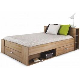 Manželská posteľ 140 cm Roket