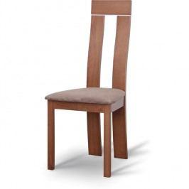 Jedálenská stolička Desi čerešňa