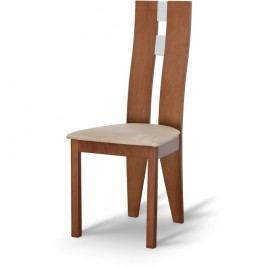Jedálenská stolička Bona čerešňa