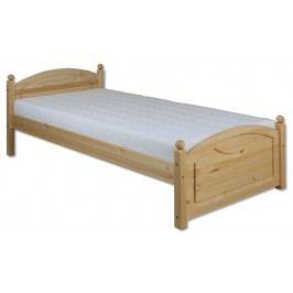 Jednolôžková posteľ 80 cm LK 126 (masív)