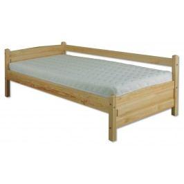 Jednolôžková posteľ 90 cm LK 133 (masív)