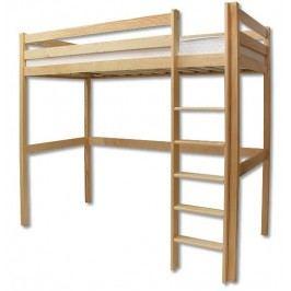 Poschodová posteľ 90 cm LK 135 (masív)