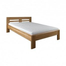Manželská posteľ 200 cm LK 211 (dub) (masív)