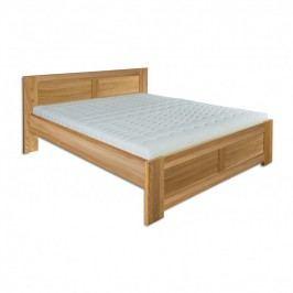 Manželská posteľ 140 cm LK 212 (dub) (masív)