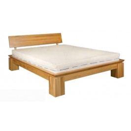 Manželská posteľ 140 cm LK 213 (dub) (masív)