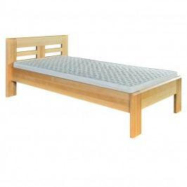 Jednolôžková posteľ 80 cm LK 160 (buk) (masív)
