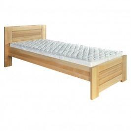 Jednolôžková posteľ 100 cm LK 161 (buk) (masív)