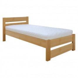 Jednolôžková posteľ 90 cm LK 180 (buk) (masív)