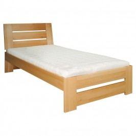 Jednolôžková posteľ 100 cm LK 182 (buk) (masív)