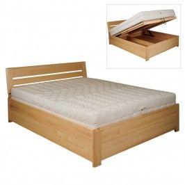 Manželská posteľ 200 cm LK 195 (buk) (masív)
