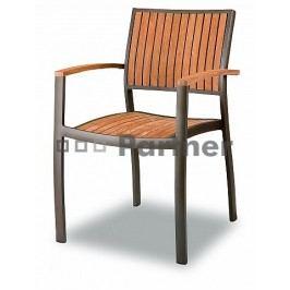Záhradná stolička C88012-TK (hliník)
