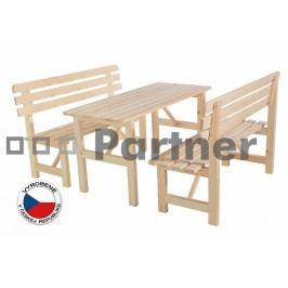 Záhradný nábytok Borovica masív 1+2 01