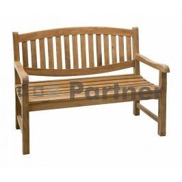 Záhradná lavička Alpen 150 (Teak)