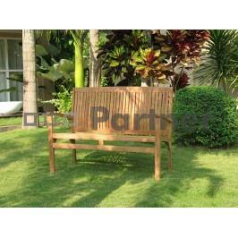 Záhradná lavička Harmony 120 cm (Teak)