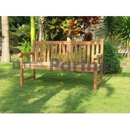 Záhradná lavička Florencie 120 cm (Teak)