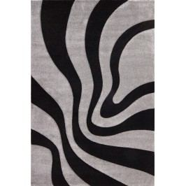 Kusový koberec Lambada Handcarving 452 Black-Silver