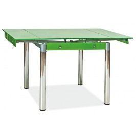 Jedálenský stôl GD-082 zelený (pre 4 osoby)