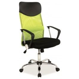 Kancelárska stolička Q-025 zelená + čierna