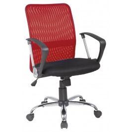 Kancelárska stolička Q-078 červená + čierna