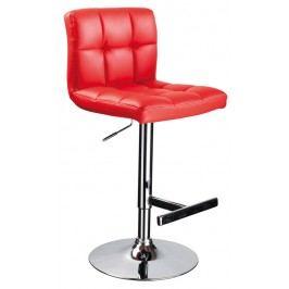 Barová stolička C-105 Krokus červená