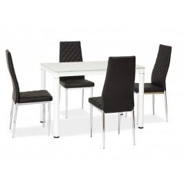 Jedálenský stôl Galant (biela) (pre 4 osoby)