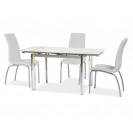 Jedálenský stôl GD-019 (biela) (pre 4 až 6 osôb)