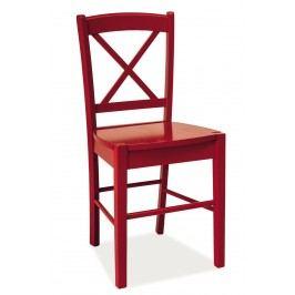 Jedálenská stolička CD-56 (červená)