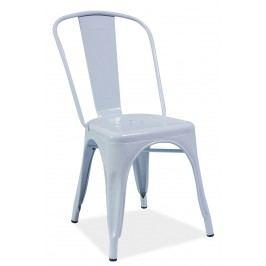 Jedálenská stolička Loft (biela)