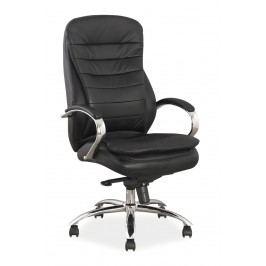 Kancelárske kreslo Q-154 (ekokoža čierna)